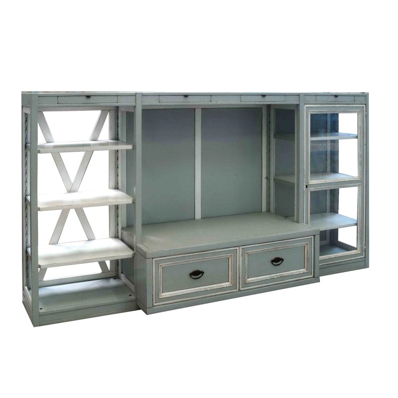Vasco De Gama EL.BY.0064, Modular composition with bookcase and TV stand