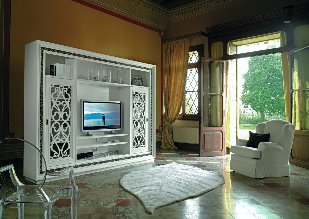 Vienna, Living room furniture with TV stand