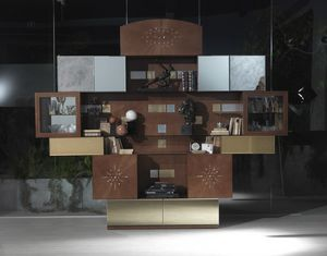 VL29 Klimt cabinet, Living room furniture with mirrors, at outlet price