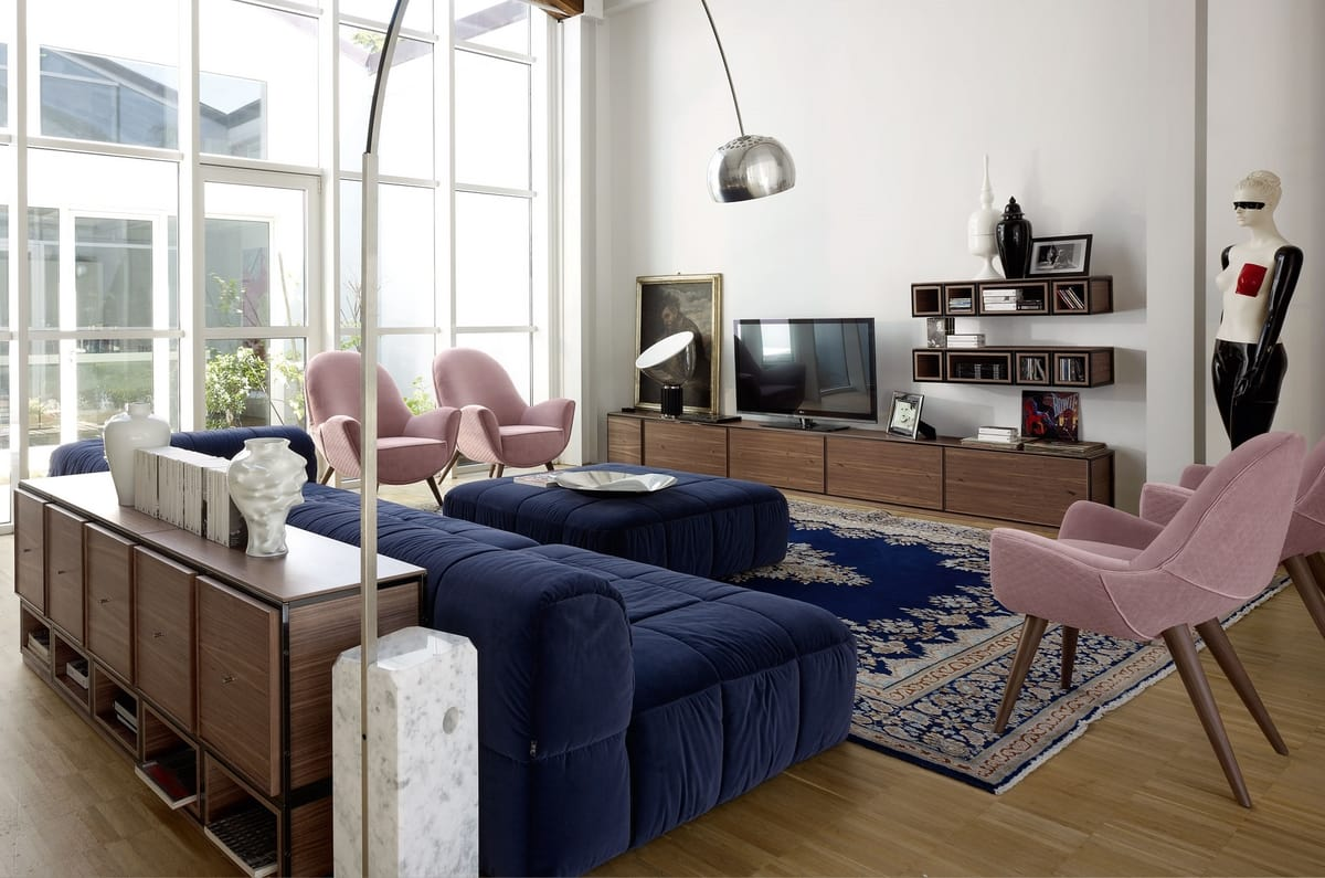 Wallis W001G, Modular furniture for living room