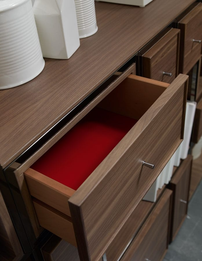 Wallis W003G, Modular wall cabinet, with doors and drawers