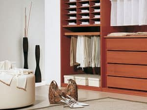 Internal Equipment 06, Modular accessories for walk-in closet and wardrobe