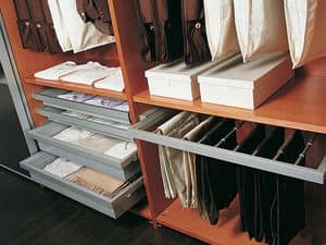 Internal Equipment 09, Wardrobe with accessories, for modern villas
