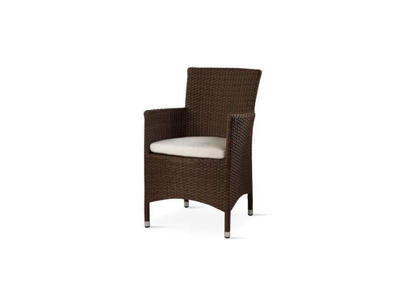 Art. TR 909, Chair with armrests for outdoor use
