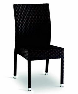 9406 Aida, Woven chair for outdoor bars and restaurants