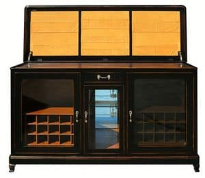 Grâce BR.0005.C, Sideboard sommelier with air conditioning