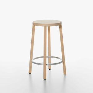 Blocco mod. 8500-00/60, Essential wooden stool, high design, for Kitchen