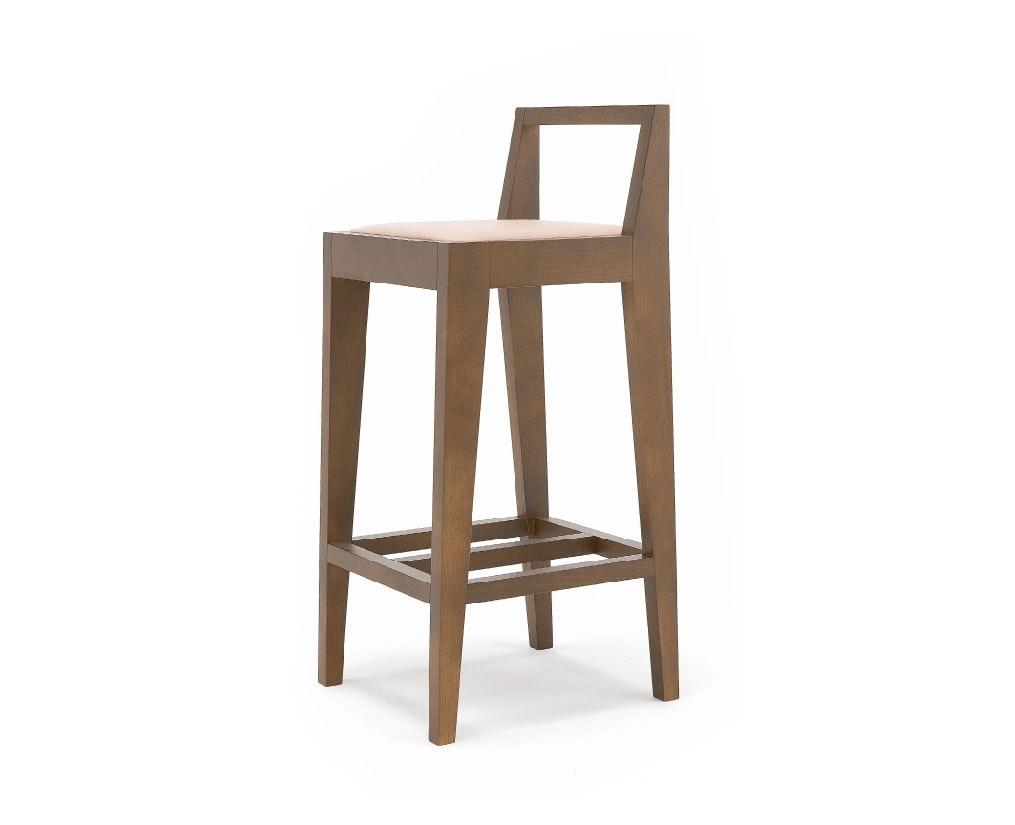 Malmo, Geometric design wooden stool