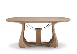 6104 Arpa, Elegant oval dining table