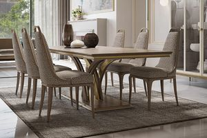 Alexander Art. A06, Luxurious rectangular dining table