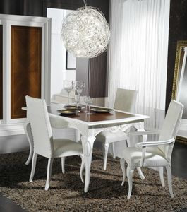 Art. 101, Elegant dining table in a classic style