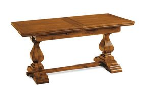 Art. 51, Classic table with internal extensions