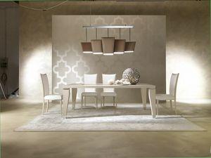 Dahlia 360T, Elegant wooden table