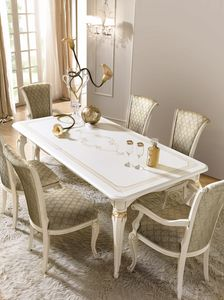 Fenice Art. 1620  - 1621 - 1622, Elegant dining tables