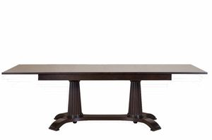 Heritage table, Extending dining table, made in wood