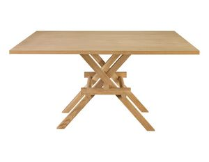 Leonardo 5710/F, Wooden table inspired by Leonardo da Vinci