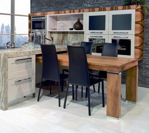 N�scira 101, Solid walnut wood dining table