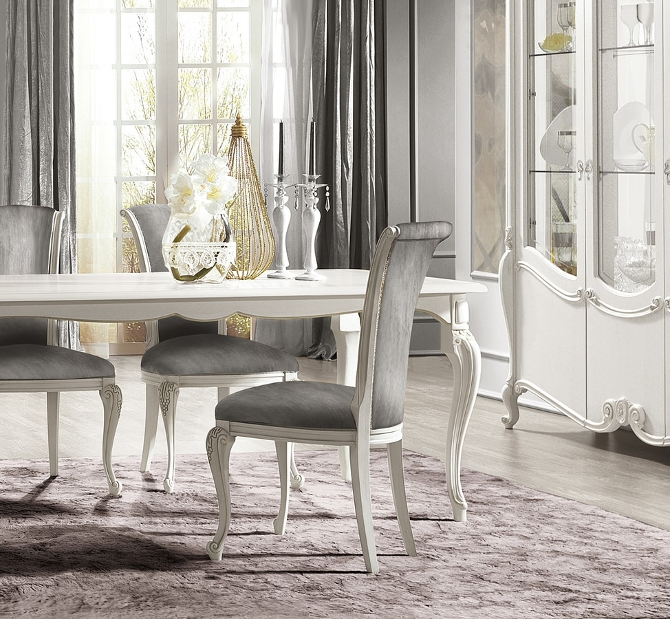 Puccini Art. 7621, Dining table with a refined taste