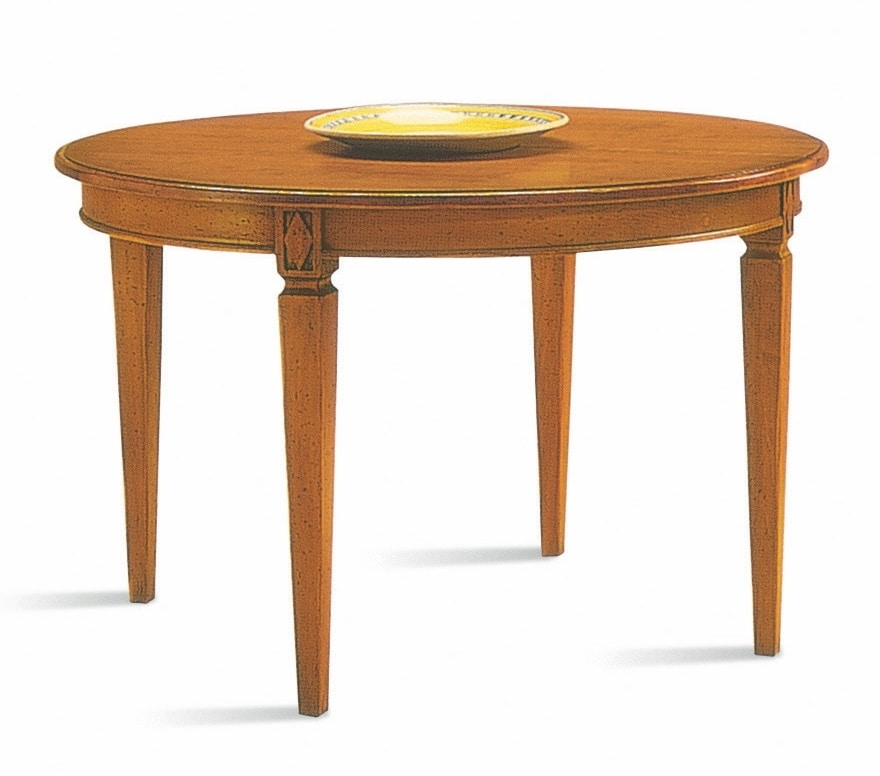Villa Borghese dining table 3375, Directoire style dining table