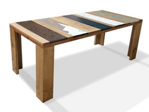 Xilo, Table in wood and lava stone