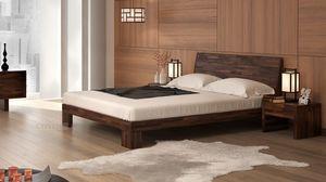 Aurora, Solid beech wood bed