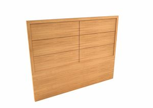 Eleganza double bed headboard, Wooden headboard for double bed, for hotel