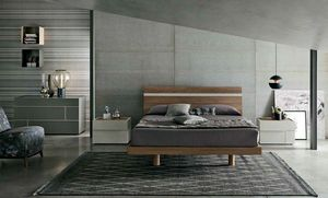 Joker, Modern wooden bed
