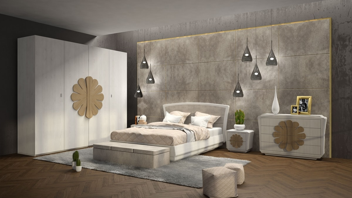 La Nuit bed, Sinuously shaped bed