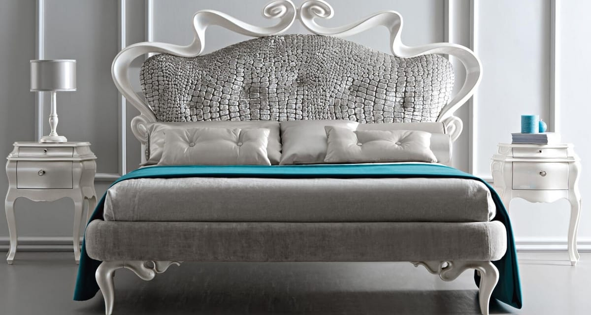 Melissa Soft Art. 912, Bed with a romantic and elegant taste