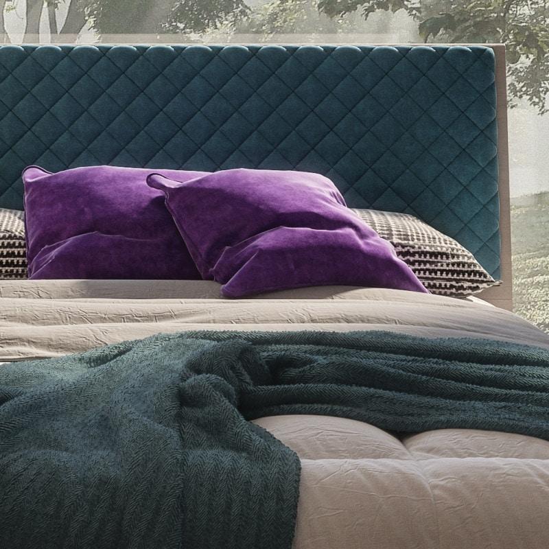 Nova NOVA1310TB, Modern bed with linear headboard