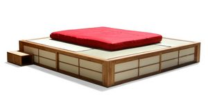 Podio, Space saving Japanese bed