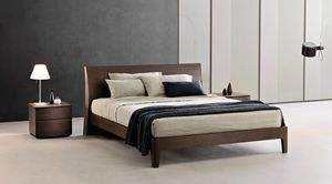 Regio, Bed with a sober and essential design