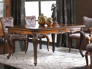 Alexander table, Extendable table in classic style