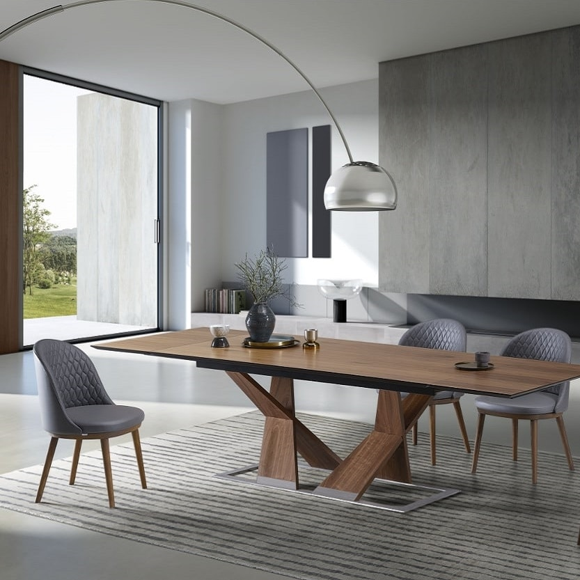 Ankor, Extendable table, with a rigorous design