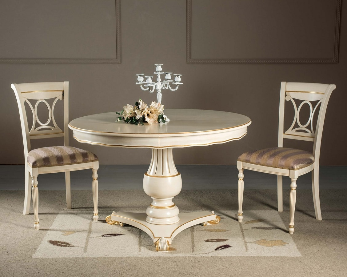 Art. 3738, Round table, extendable