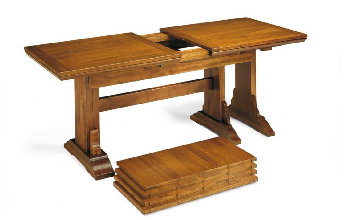 Art. 50, Table with extensions, in wood