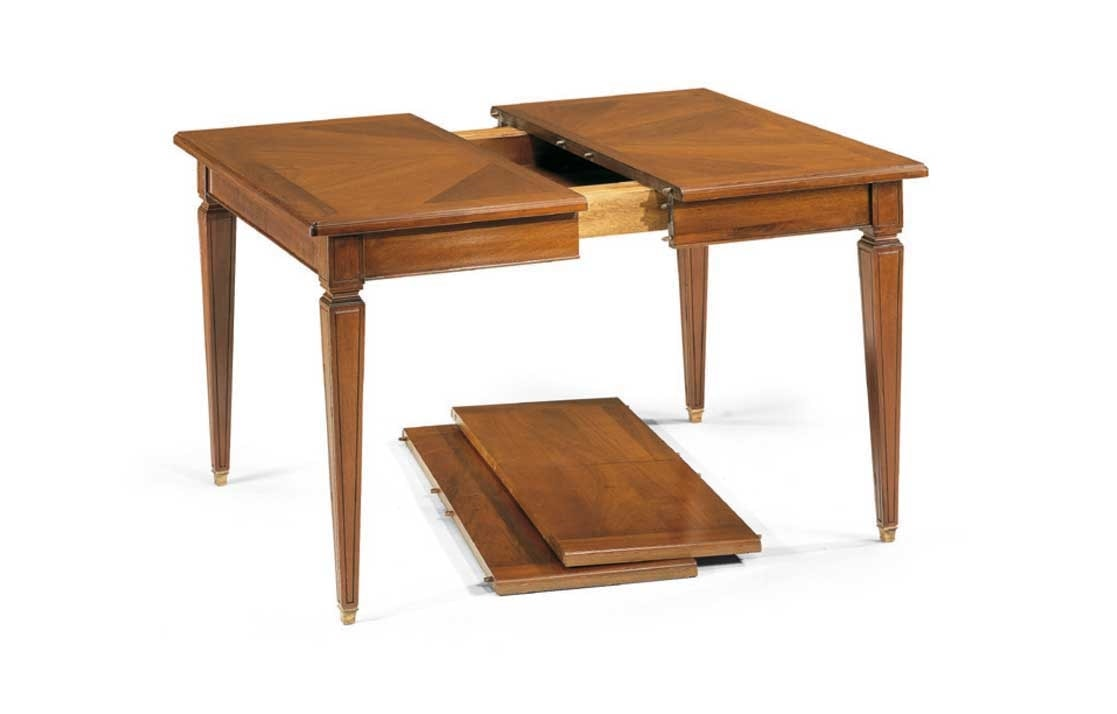 Table With Extendable Square Top Idfdesign