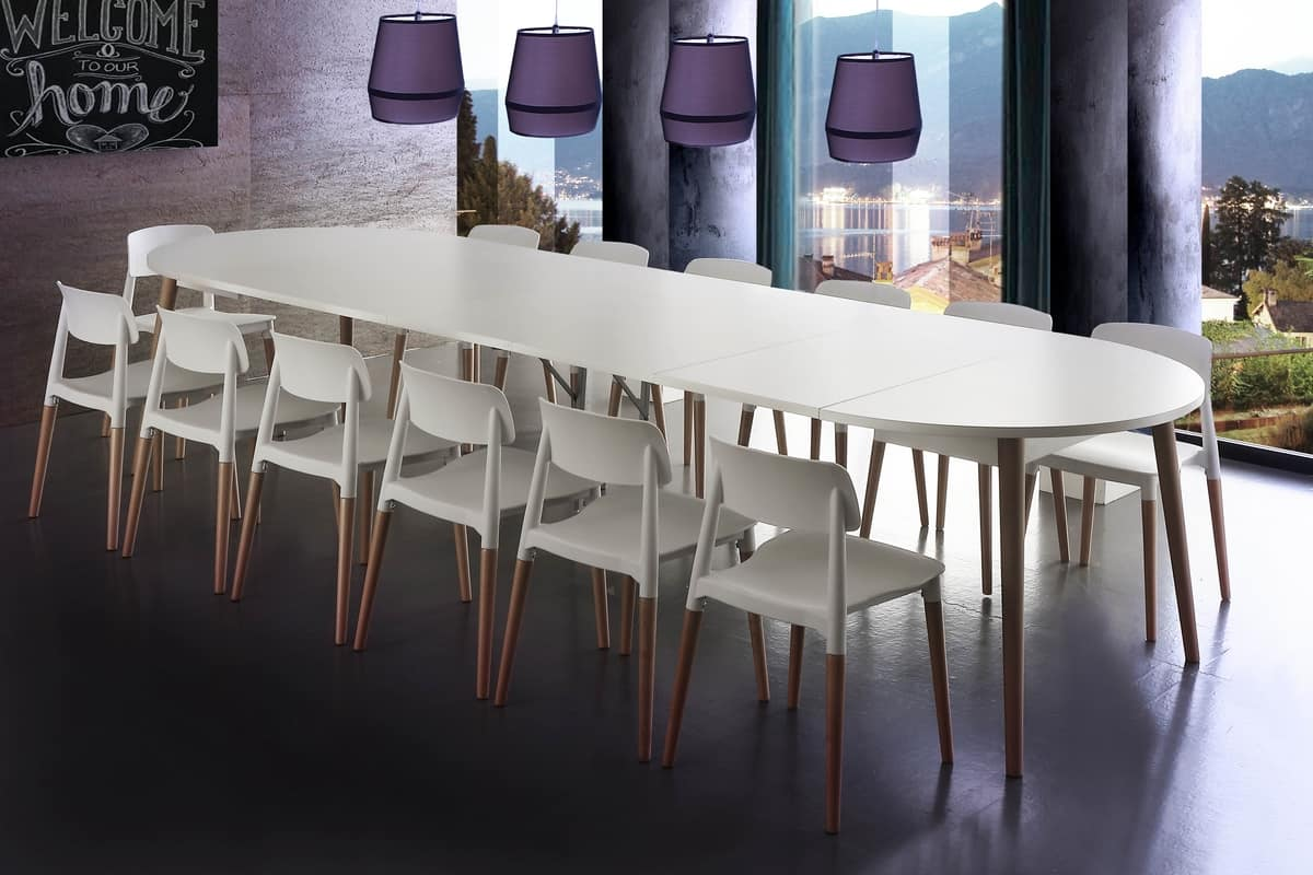 Art. 649 Gotland, Extendable table with a Nordic design