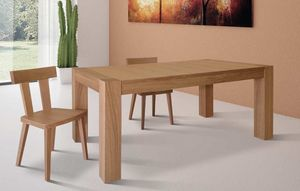 Art. 656, Extendable dining table, in oak wood