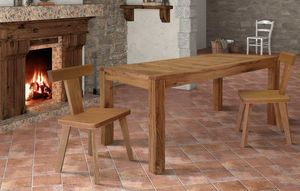 Art. 657, Wooden table, with extensible top