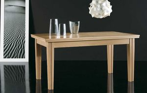 Art. 662, Dining table with considerable extension of the top