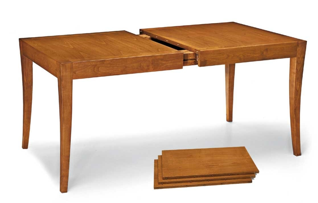 Art. 670, Extendable table in wood