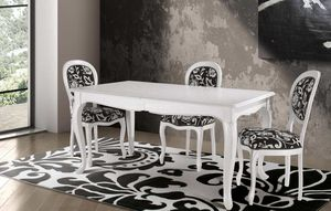 Art. 677, Table in classic contemporary style, with decorated top