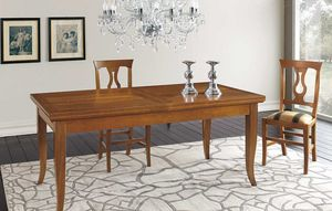 Art. 68, Large dining table, thanks to the internal extensions