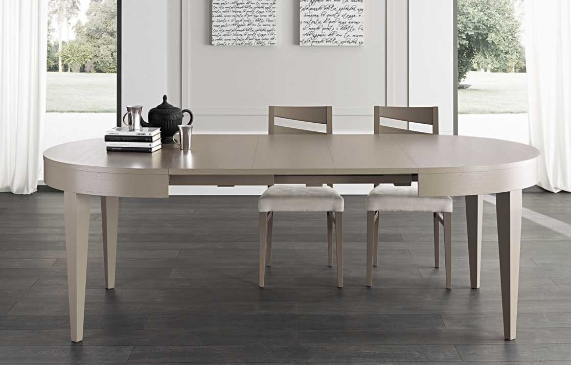 Art. 680, Oval table with extensible top
