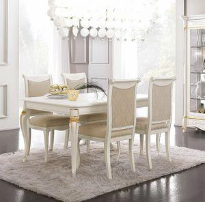 Diamante Art. 2613, Extendable rectangular table