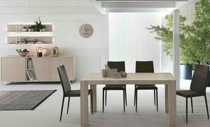 Doppio Passo, Extendable wooden table