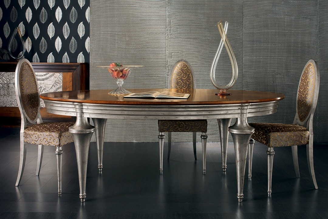 Etoile Art. ET009/AR, Oval table with extension