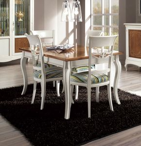Floreale table, Dining table with 2 extensions