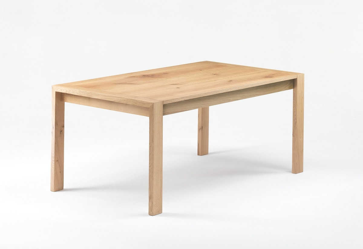 Gimmi, Solid oak table, also extendable